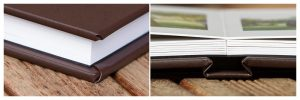 Leather-Wedding-Album-layflat-30-pages-professionally-printed