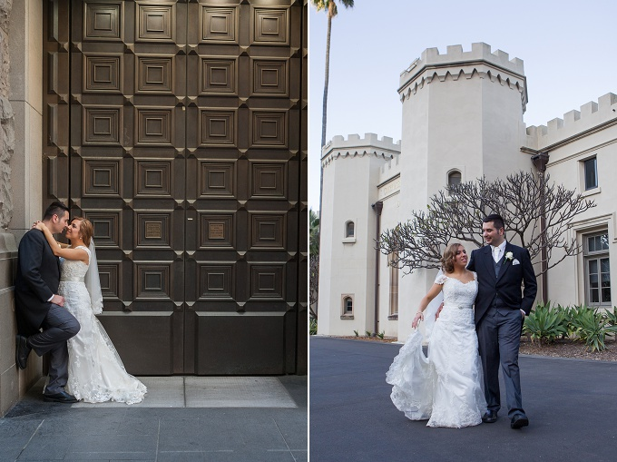 Bride-&-Groom-portraits-at-Martin-Place-and-sydney conservatorium of music