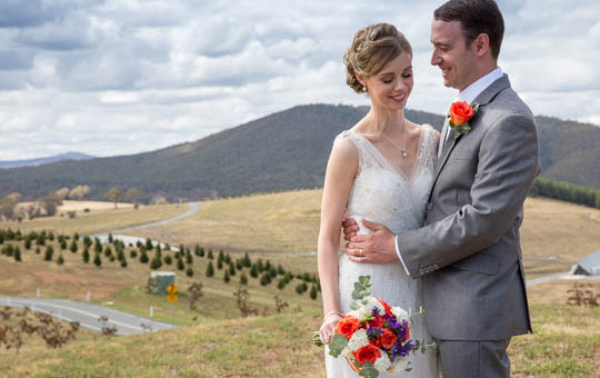 National Arboretum Canberra Wedding
