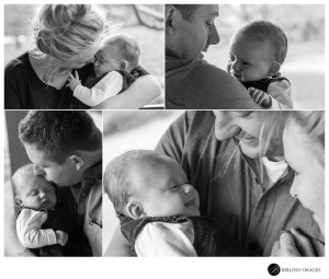 A-balck-and-white-portrait-collage-of-mum-and-dad-and-baby-duirng-a-family-Portrait-Photo-Session-at-Canberra-Nara-Peace-Park