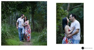 Engaged-couple-wlaking-and-talking-during-a-portrait-session