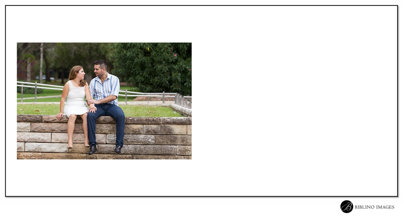 Page-nine-of-ten-signing-guest-book-from-a-Leichhardt Engagement Portrait Session by-Biblino-Images