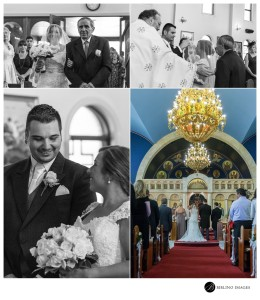 Groom-sees-bride-for-the-first-time-at-the-church
