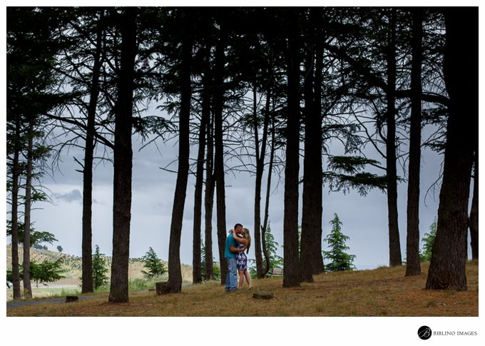 Engagement session in the Himalayan Cedar Forest