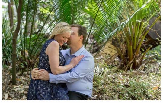 Engagement shoot National Botanic Gardens Canberra