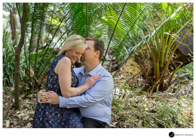 Engagement shoot National Botanic Gardens Canberra