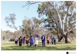 Outdoor Canberra wedding Mount Ainslie