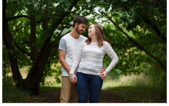 Summer engagement shoot: Palmerville Heritage Park