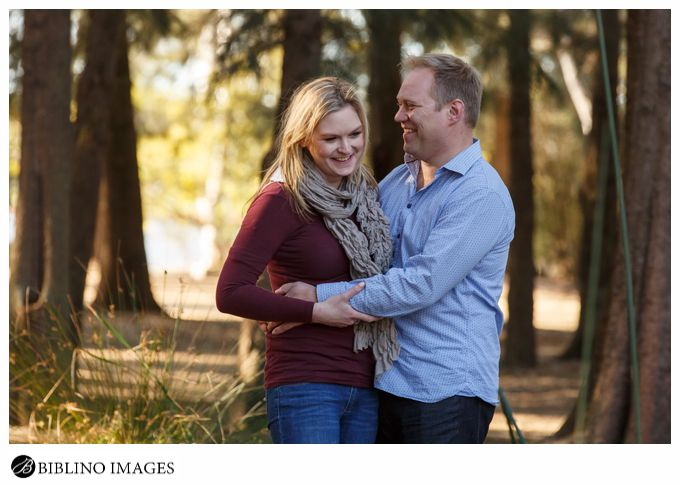 Canberra sculpture garden engagement photos