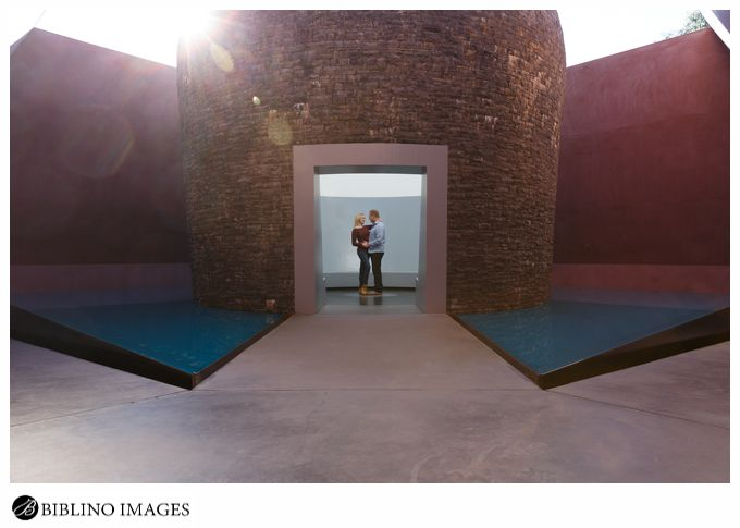 Engagement session at James Turrell Sky Space Canberra