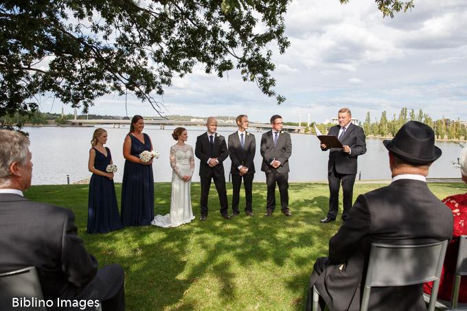National museum of Australia wedding ceremony